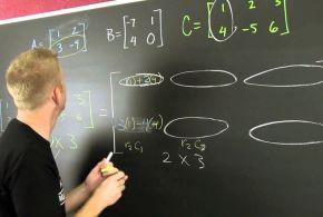 Πολλαπλασιασμός των στοιχείων δύο Πινάκων m γραμμών και n στηλών