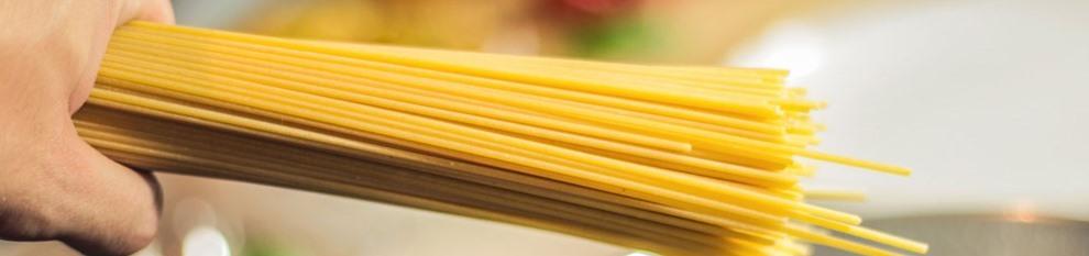 Η αλφαβήτα των ζυμαρικών - Κατάλογος - τύποι ζυμαρικών